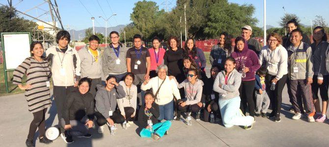 Instituto Noreste lleva a cabo trote por la educación y la salud